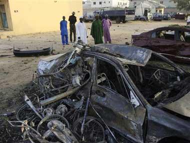 nigeriapoliceheadquartersbombed