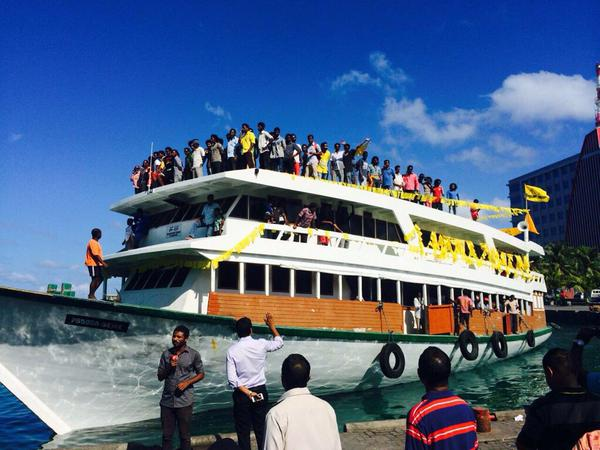 Maafaru Boat